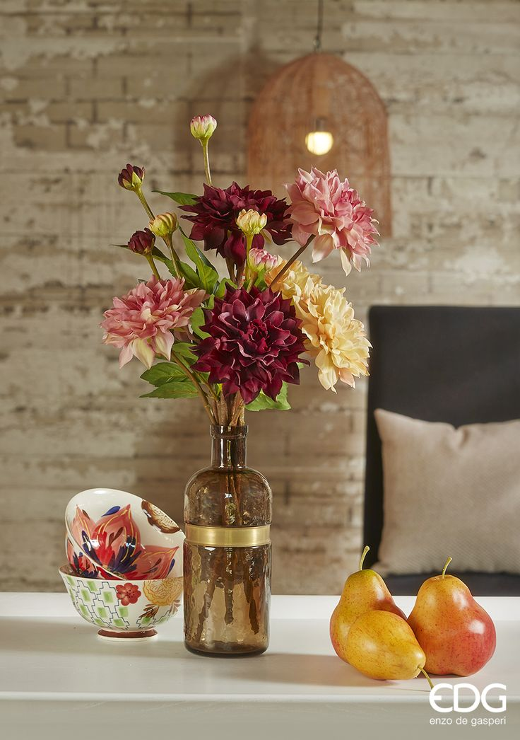 Autumn Collection 2014 - Pears, Artificial Flowers, Cups | EDG Enzo De Gasperi