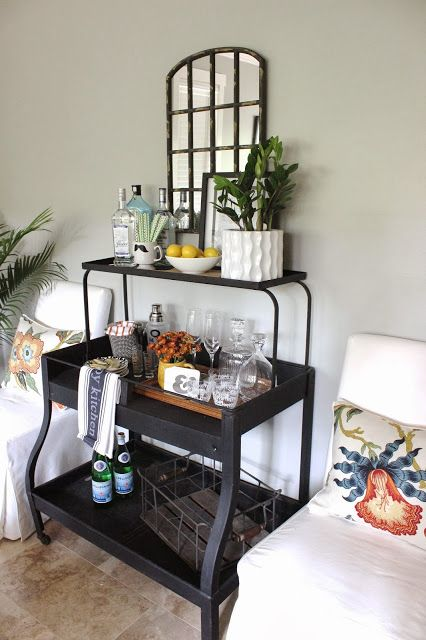 design indulgence: BEFORE AND AFTER Bar styling