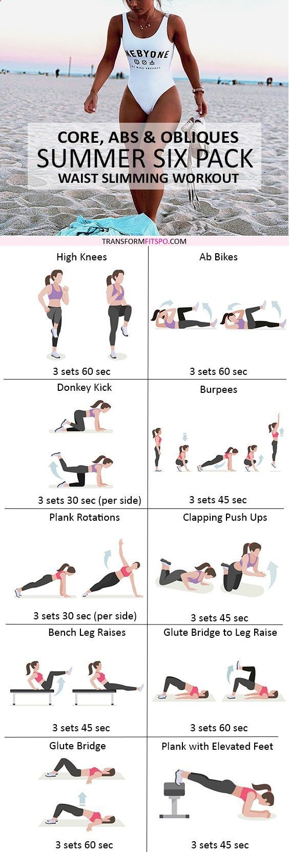 Gym & Entraînement : Repin and share if this gave you rapid results so you could wear your bikini wi