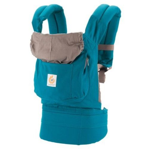The Ergobaby Original Baby Carrier has a great design that evenly redistributes your baby's weight, preventing strain on your body. It makes this carrier a BabyList Best pick!