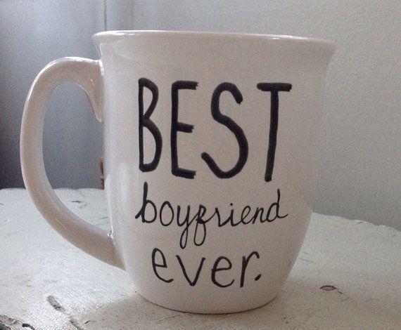 Best Boyfriend Ever mug Boyfriend Mug by simplymadegreetings, $11.00