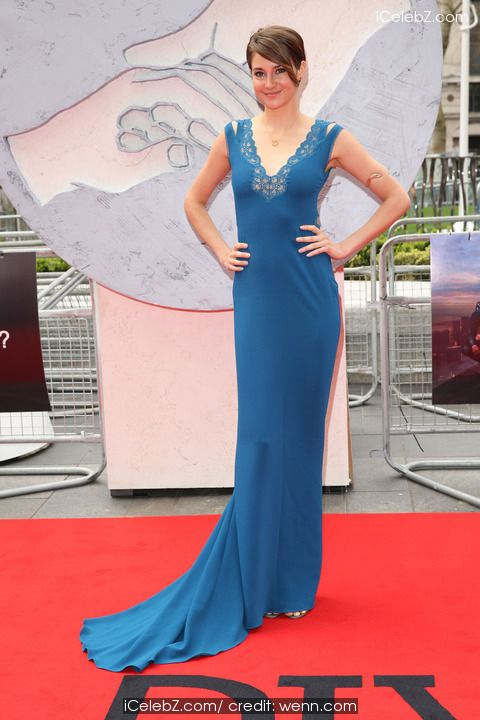 Shailene Woodley  The European Premiere of 'Divergent' held at the Odeon Leicester Square - Arrivals http://www.icelebz.com/events/the_european_premiere_of_divergent_held_at_the_odeon_leicester_square_-_arrivals/photo22.html