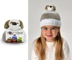 DMC Top This Yarn Puppy Hat