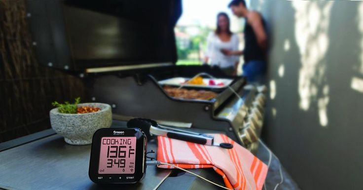 Grill Right Bluetooth BBQ Thermometer - $13 (today only) #barbecue #BBQ #food #grill #summer #plancha #party