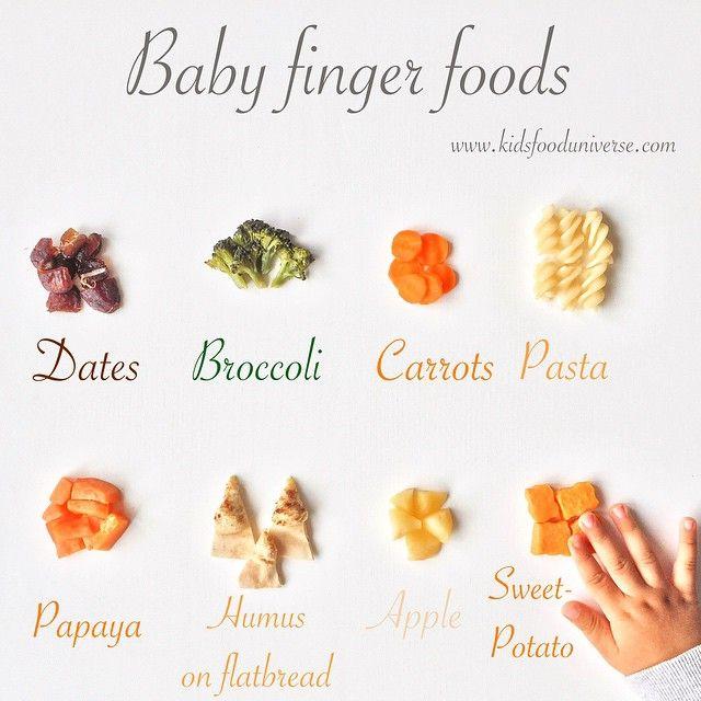 Finger Foods For  Month Old Baby Uk