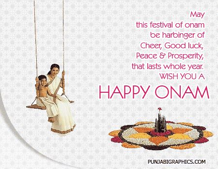 Happy Onam Graphic For Myspace