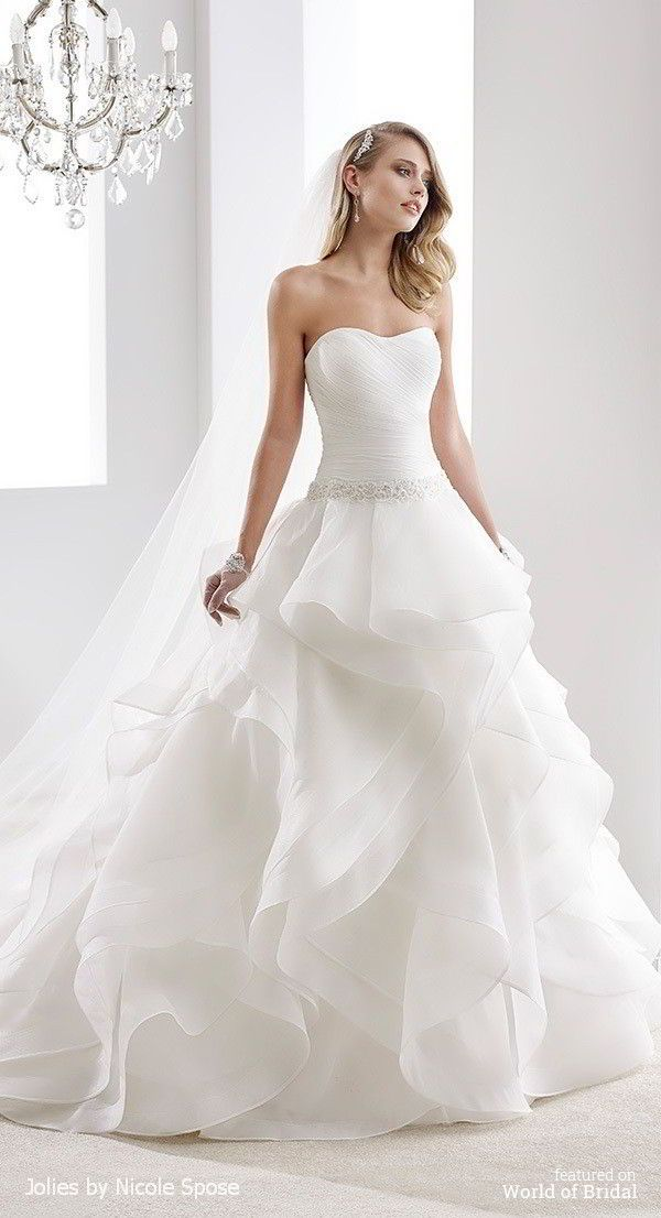 Jolies by Nicole Spose 2016 Wedding Dress Gown