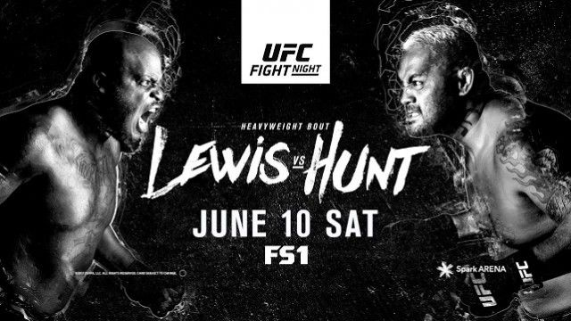 Watch UFC Fight Night 110: Lewis vs. Hunt 6/10/2017 Full Show Online Free
