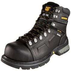 """Caterpillar Men's Endure 6"""" Superduty Waterproof Steel-Toe Work Boot - http://authenticboots.com/caterpillar-mens-endure-6-superduty-waterproof-steel-toe-work-boot/"""