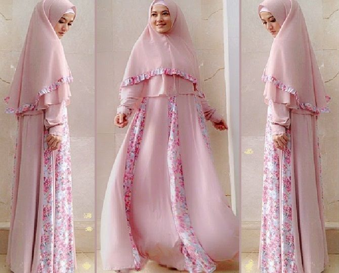 Model Baju Muslim Syar'i Terbaru 2017