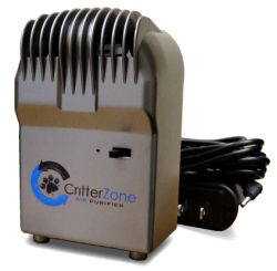 Critter Zone: This Little Air Purifier Packs a Big Punch! | Eliminates dog and cat odors