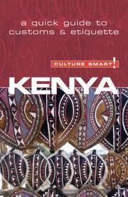 Barsby, Jane: Kenya