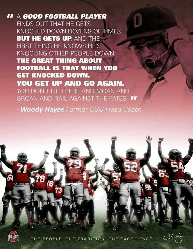 Woody Hayes Quote