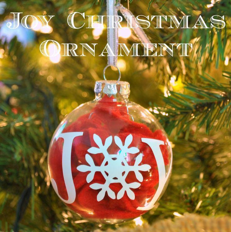 17 best Joy images on Pinterest  Christmas ornaments Christmas