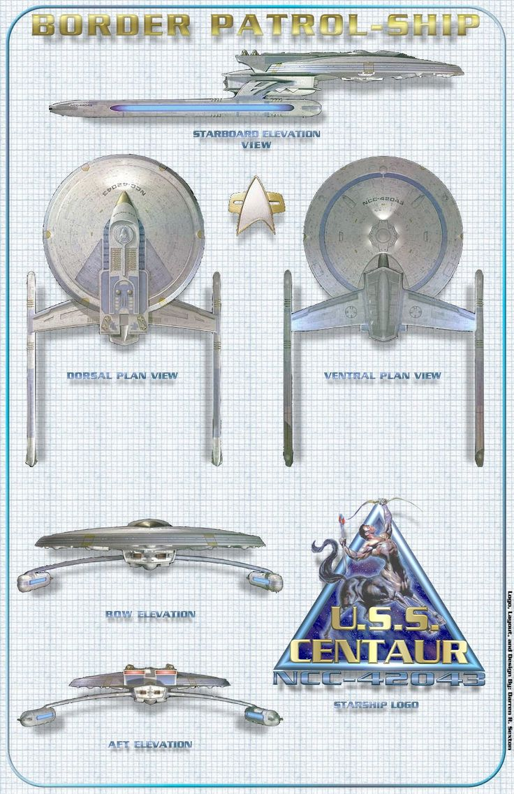 Centaur class schematics by Darren Sexton, via Mongbat Forums