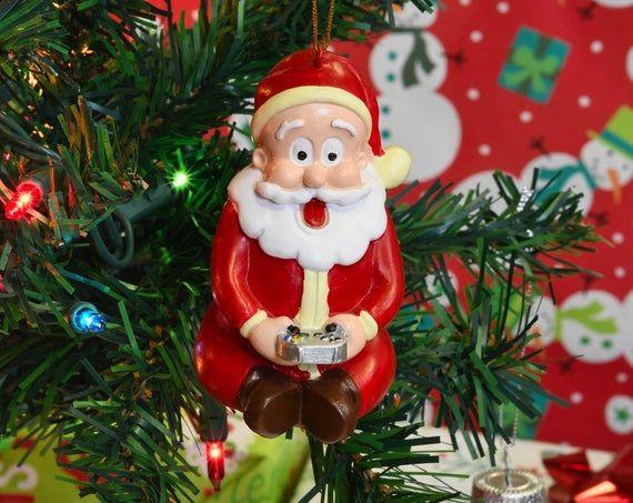 Tree Buddees Gamer Santa Claus Video Gaming Christmas Ornament Etsy In 2020 Christmas Ornaments Christmas Games Perfect Xmas Gifts