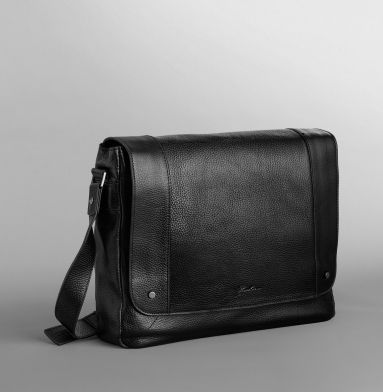 Durango Leather Messenger Bag - Kenneth Cole