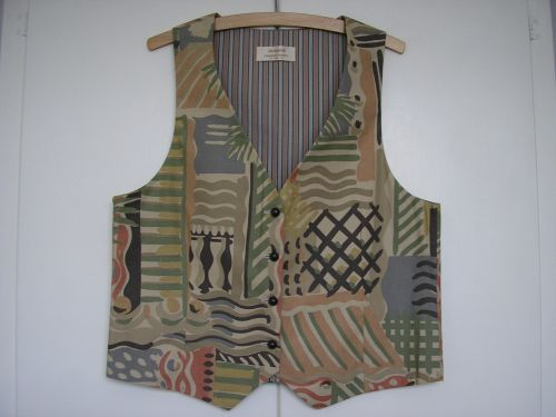 "Waistcoat in Vintage Liberty Collier Campbell  34"" - 36"""