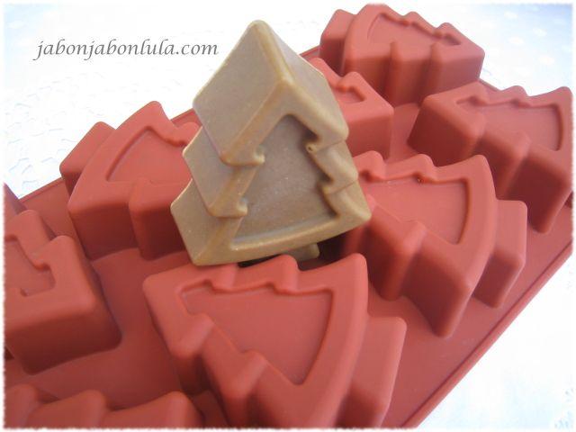 Moldes para hacer jabones naturales, molde de silicona platino.