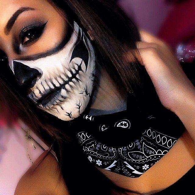 Badass Halloween makeup!