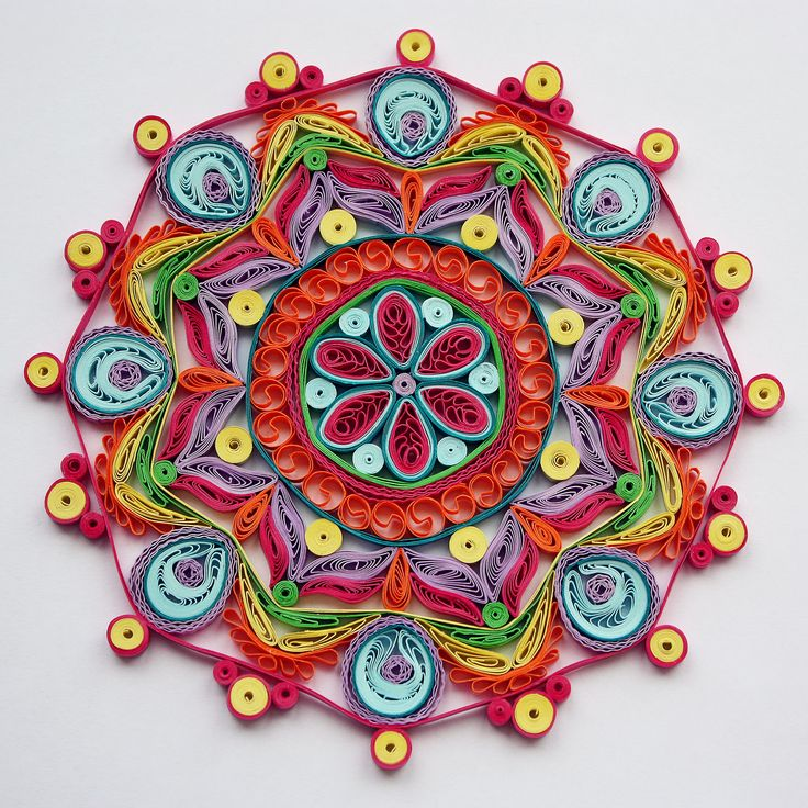 Mandala quilling pinterest quilling for Quilling craft ideas