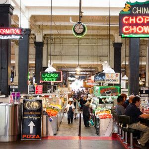 "Grand Central Market up in LA makes the Top 10 Restaurants in America by Bon Appetit Magazine. Next time you are in DTLA, stop by this ""food hall"" and try out places like EggSlut, G&B Coffee or Wexler's Deli to name a few."