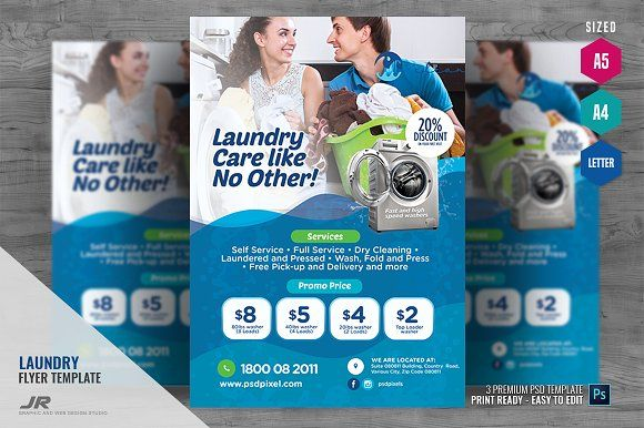 Commercial Laundry Solution Flyer Laundry Solutions Commercial