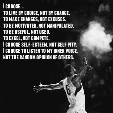 No wonder Lebron's that good he looks for what he knows needs improvement and does what he does the best :-)