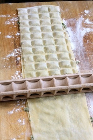 Ravioli Rolling Pin... this would be great.