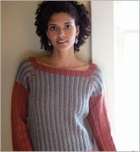 foto de Slip Stitch Yoke Sweater Sweater knitting patterns Seamless knitting