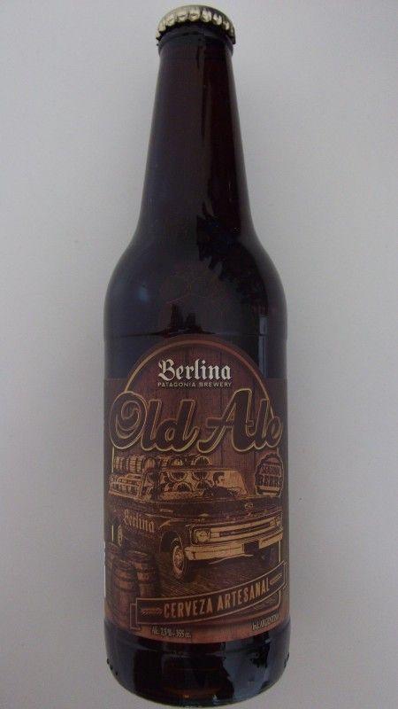 Cerveja Berlina Old Ale, estilo Old Ale, produzida por Berlina, Argentina. 7.5% ABV de álcool.