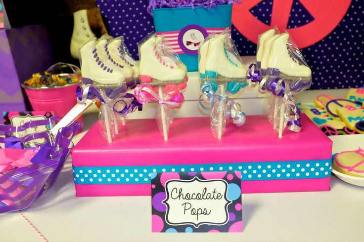 Roller Skating Birthday Party Ideas | Photo 6 of 61 | Catch My Party