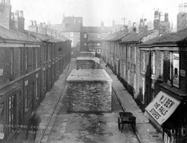 fay street air raid shelter 1939