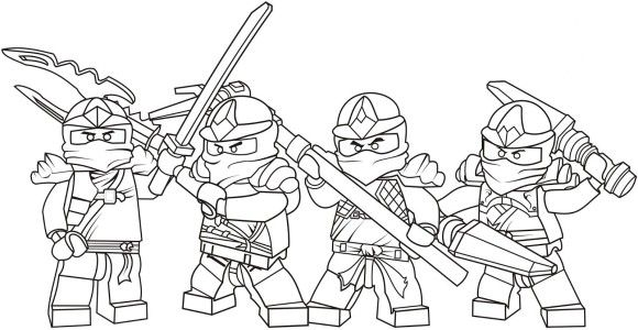 ausmalbilder ninjago 02