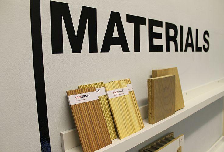 Materials Wall