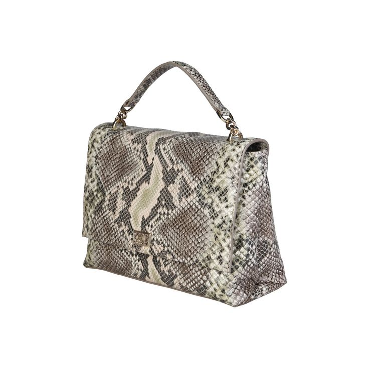 Cavalli Class – C00PW16C50I2  Crossbody Women's bag of 2016 F/W Collection has magnetic fastening, removable shoulder strap and a dust bag. Inside it, there are zipped pocket and 2 patch pockets. It's outside and lining composed of leather and 100% CO, respectively. It is of size 25,5*19*10 cm.   https://fashiondose24.com
