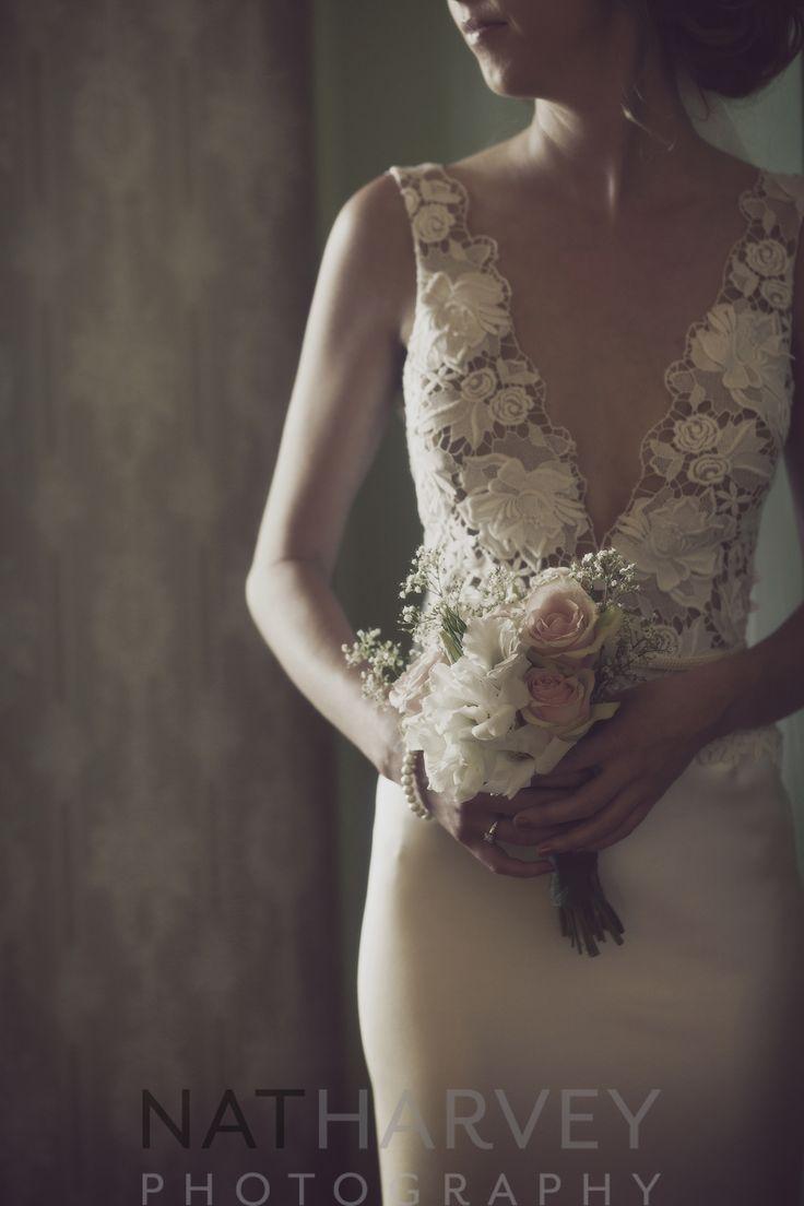 brides own dress and flower design - natharvey@aapt.net.au