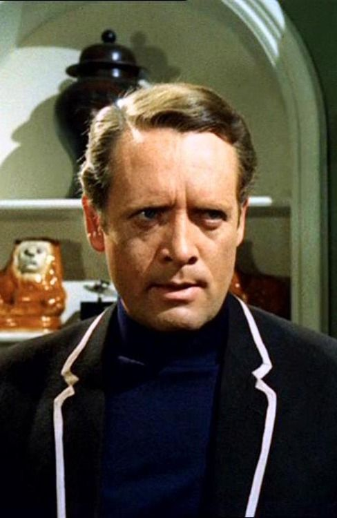 "Patrick McGoohan (as Number 6) in ""The Prisoner""  - And I still remember the line where he says, ""I am not a number, I am a free man!"" Still one of the smartest, if enigmatic, TV series ever done."