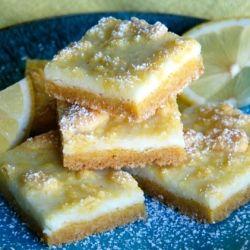 Lemon Cream Cheese Bars - Super easy lemon bars made with boxed lemon cake mix!