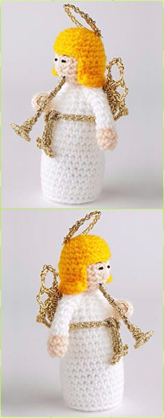 3106 besten CHRISTMAS - Crochet Bilder auf Pinterest | Weihnachten ...