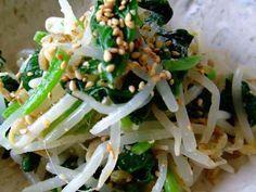 簡単☆もやしと小松菜のナムルの画像