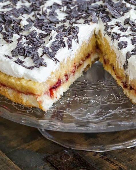 Schwedische Apfel-Sahne-Torte ★ Swedish Apple Cream Cake