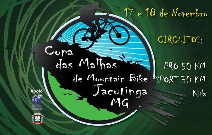 Copa das Malhas de Mountain Bike Jacutinga MG.