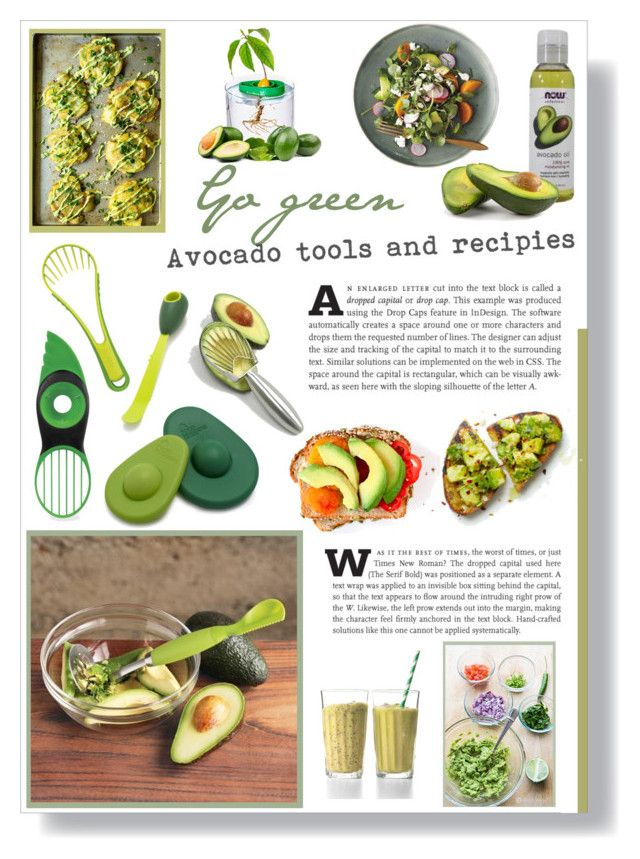 """""""Go Green: Avocado tools and recipies"""" by lillyluvs ❤ liked on Polyvore featuring interior, interiors, interior design, home, home decor, interior decorating, OXO, Sur La Table, Chef'n and Norpro"""
