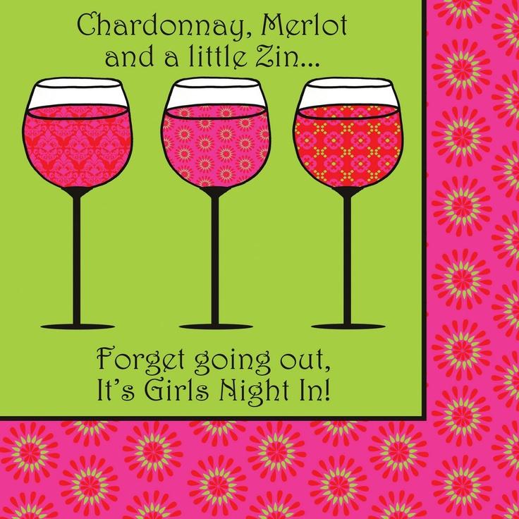 planning a girls night
