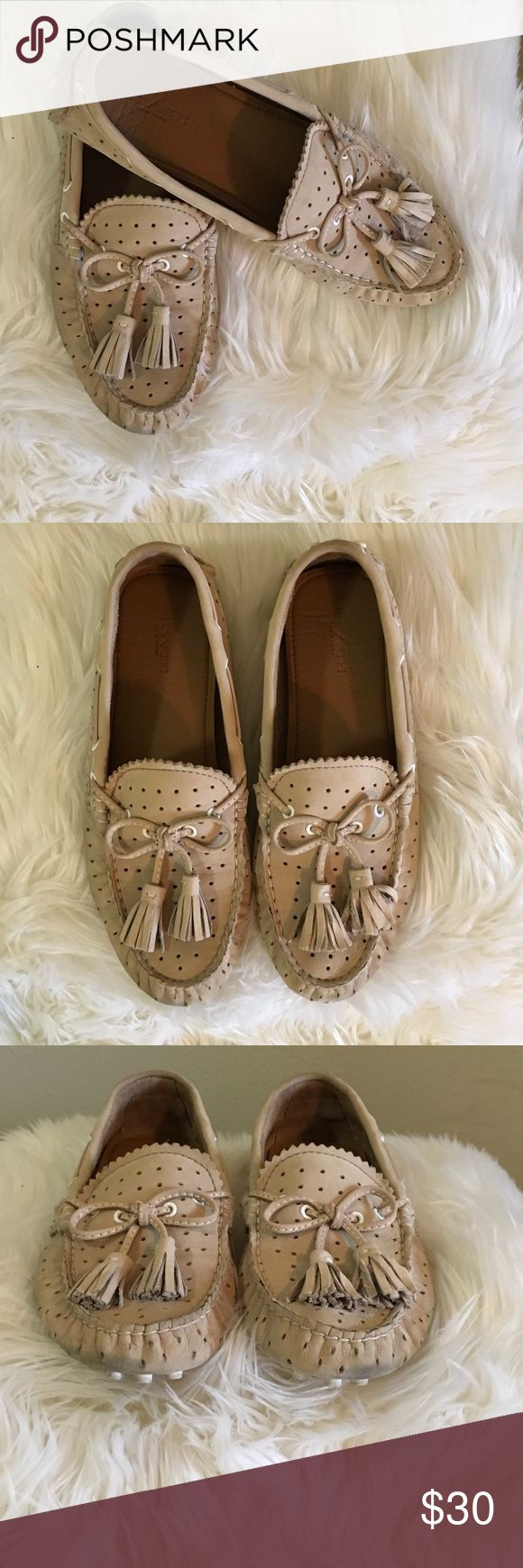 Coach flats with tassels. Coach flats with tassels. These are very comfortable. They have been loved. They have plenty of life. Please see pictures. No box. Sorry No trades. Coach Shoes Flats & Loafers