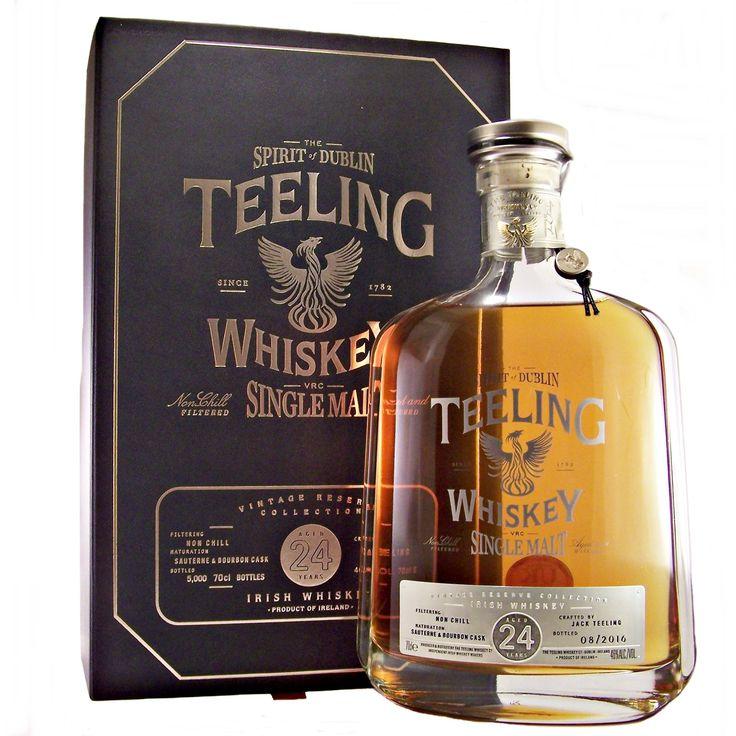 Teeling 24 year old Irish Single Malt Whiskey Spirit of Dublin available to buy online at specialist whisky shop whiskys.co.uk Stamford Bridge York