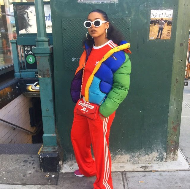 *P R I N C E S S N O K I A. • . d e s t i n y f r a s q u e r i* this girl is just perfect #hip #fashion #style #rainbow #queen