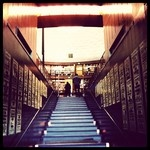 Löpsedlar om HIV/AIDS klär trappan upp i Rotundan