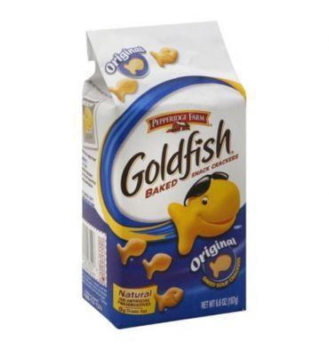 Les Goldfish Original de Pepperidge Farm sont de délicieux crackers en forme de poisson. Vous allez adorer, c'est un grand classique du snac...